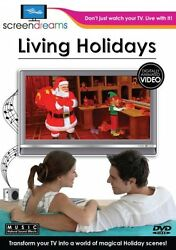 LIVING HOLIDAYS VIRTUAL FIREPLACE & MORE: CHRISTMAS HALLOWEEN THANKSGIVING NEW