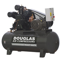 20hp 120 gallon 80CFM INDUSTRIAL AIR COMPRESSOR Replaces Champion Ingersoll Rand
