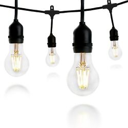 Crelitech Outdoor Or Indoor LED String Lights For Patio Garden Or Backyard And