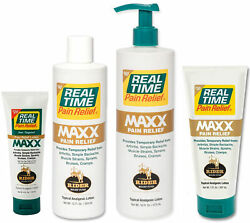 Real Time Pain Relief - Maxx Pain Cream