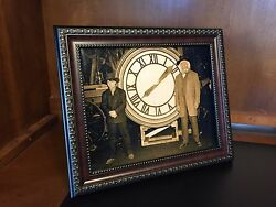 Back to the Future Marty amp; Doc with the Clock Photo Prop Reproduction 8quot;x10quot; $9.75