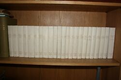23 FRENCH LEATHERBOUND BOOK SET JACKIE KENNEDY OWNED