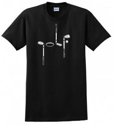 GOLF SPELLED OUT DAD CLUBS FATHERS DAY MENS FUNNY T SHIRT $8.99