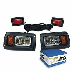Club Car DS Adjustable LED Headlights amp; LED Tail Lights Kit 1982 amp; UP $99.95