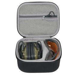 Hard Travel Case for Howard Leight Impact Sport OD Electric Earmuff and