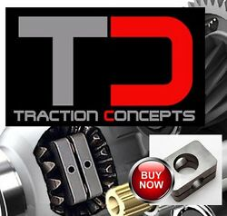 Traction Concepts Limited Slip LSD for differentials from Chevy Geo Tracker RWD $349.00