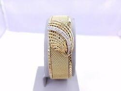 14kt Yellow Gold Women's Altair 17 Jewels Watch with Diamonds