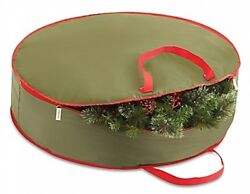 Real Simple 36 Inch Holiday Wreath Storage Bag Organizer Case Pack Christmas Xma