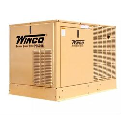 Packaged Standby Air-Cooled Generator-PSS20B2WC
