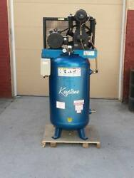 Industrial Cast-Iron 2 Stage 80 Gallon Air Compressor Replaces Kellogg