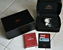 Omega Seamaster PloProf 1200m Co-Axial cAL 8500 Mint cond - box cards