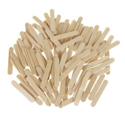 Wooden Craft Popsicle Sticks Natural 2-12-Inch 120-Piece