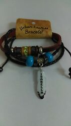 Personalized Urban Leather Bracelets by Montana Artistic Impressions Lot of 945
