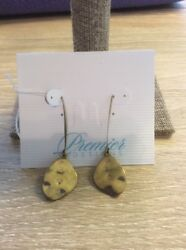 Earrings Hanging Antique Matte Brass Plated Earwires Free shipping $10.99