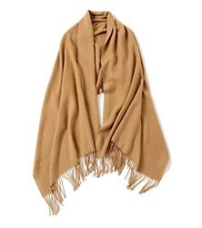 Wool Scarf Oversized Shawl Blanket Scarves And Wraps Cashmere Feel Caramel