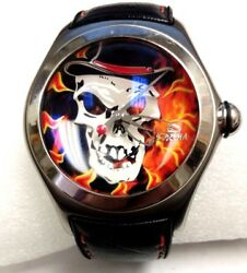 CORUM Bubble Baron Samedi SKULL  2006 RARE #1 OF 777 Automatic 200M PAGEN