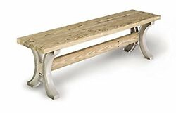 Low Table Coffee Bench Patio Outdoor Garden Furniture Picnic Seat Resin Sand New
