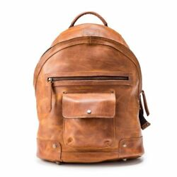 Will Leather Goods Mens Silas Backpack - 15.6 Inches Tan