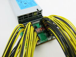 16 Port Breakout Board for HP Delta Server Power Supply GPU Mining PCIE Cable $20.00