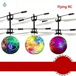 LOT* Flying RC Flying Ball Drone Helicopter Ball Built-in Shinning LED Lighting