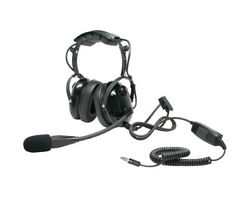 ARC T26010 Heavy Duty Earmuff Boom Mic for Nexus Plug Two Way Handheld Radios