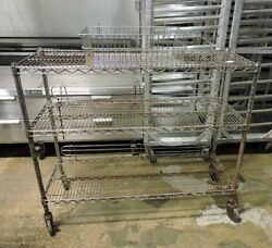 Commercial Wire Rack Shelving
