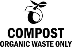 Compost Organic Waste Only Sign Home Decor Car Truck Window Decal Sticker $4.89