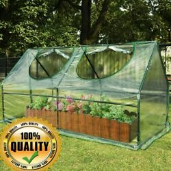 Mini Cloche Greenhouse Plant Protector UV Protection Waterproof Portable House