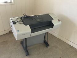 HP DesignJet T610 Wide format Color Plotter Printer $2000.00