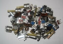 Potentiometers amp; Switches Vintage Parts 13 Types 5 Each New Lot Quantity 65 $28.95