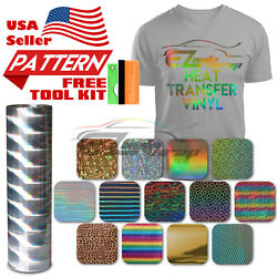 Special Effect Pattern Heat Transfer Vinyl HTV T-Shirt 20