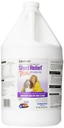 Lambert Kay Linatone Shed Relief Skin Coat Liquid Supplement Dog Cat 1 Gallon
