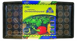 NEW Professional Greenhouse 50-Plant Starter Seed Herb Organic Kit Garden Seeds