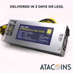 1600w 110v - 240v HyperNova APW3++ Power Supply for your BITMAIN S9 L3+ D3 X3 A3