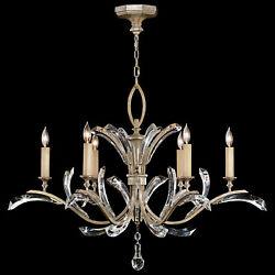 Fine Art Lamps Beveled Arcs Collection Chandelier