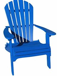 Phat Tommy Recycled Poly Resin Folding Adirondack Chair – Durable and Nature-...