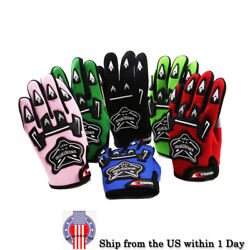 Kids Racing Gloves Motorcycle Off Road ATV Dirt Pit Bike Cycling Motocross SML $5.49