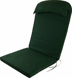 Plant Theatre Adirondack Chair Luxury High Back Cushion with Head Pillow Pads