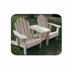Woodworking Project Paper Plan to Build Twin Adjustable Adirondack Chair