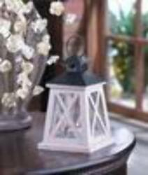 COLONIAL HEIGHT WOODEN LANTERN