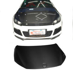 New Carbon Fiber Auto Engine Hoods Cover Fit for Volkswagen Scirocco R 2009-2014