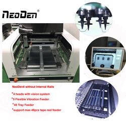 SMT Pick and place machine Neoden4 for led grow lighting support 1.5m led PCB-J