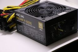 1600W 110V Power Supply For 6 GPU Eth Rig Ethereum Coin Mining Miner Machine !!!