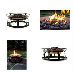RV Parts & Accessories Camco 29-Inch Portable Deluxe Outdoor Fire Pit 65000 10
