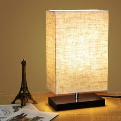 Coffee Table Lamp Desk Bedside Asian Japanese Wood Stand Shade Bedroom Baby Room