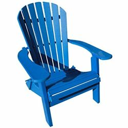 Adirondack Chairs Phat Tommy Recycled Poly Resin Folding Deluxe Durable Patio