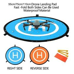 Portable Foldable Landing Pad for RC Drones DJI Phantom 4 3 Mavic Pro $11.99