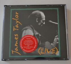 Live by James Taylor (Vocals) (CD Jul-1993 2 Discs Columbia (USA))