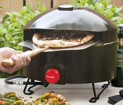 Outdoor Pizza Oven Portable Propane Gas Tailgating Camping BBQ Stone Grill Patio
