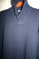 NWT 12ply Hand Knit Italian Yarn 100% Cashmere Ralph Lauren Sweater XL $695.00